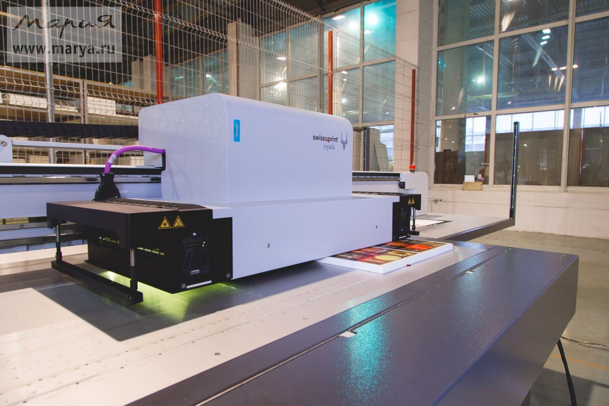 На фабрике «Мария» появился уникальный принтер для фотопечати