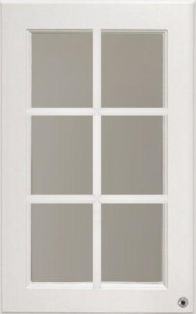 Фасад со стеклом с планками Nicolle
