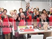 Кулинарный мастер-класс в честь открытия студии