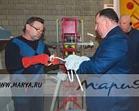 Мебельную фабрику «Мария» посетила администрация Саратова