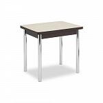 AERO MAGIC LST- WE CR стол раздвижной; подстолье - дерево; венге, хром