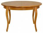 """ORIMEX Кухонный стол """"Марсель-БК"""" 120(165)х120 венге с серебряной патиной (877)"""