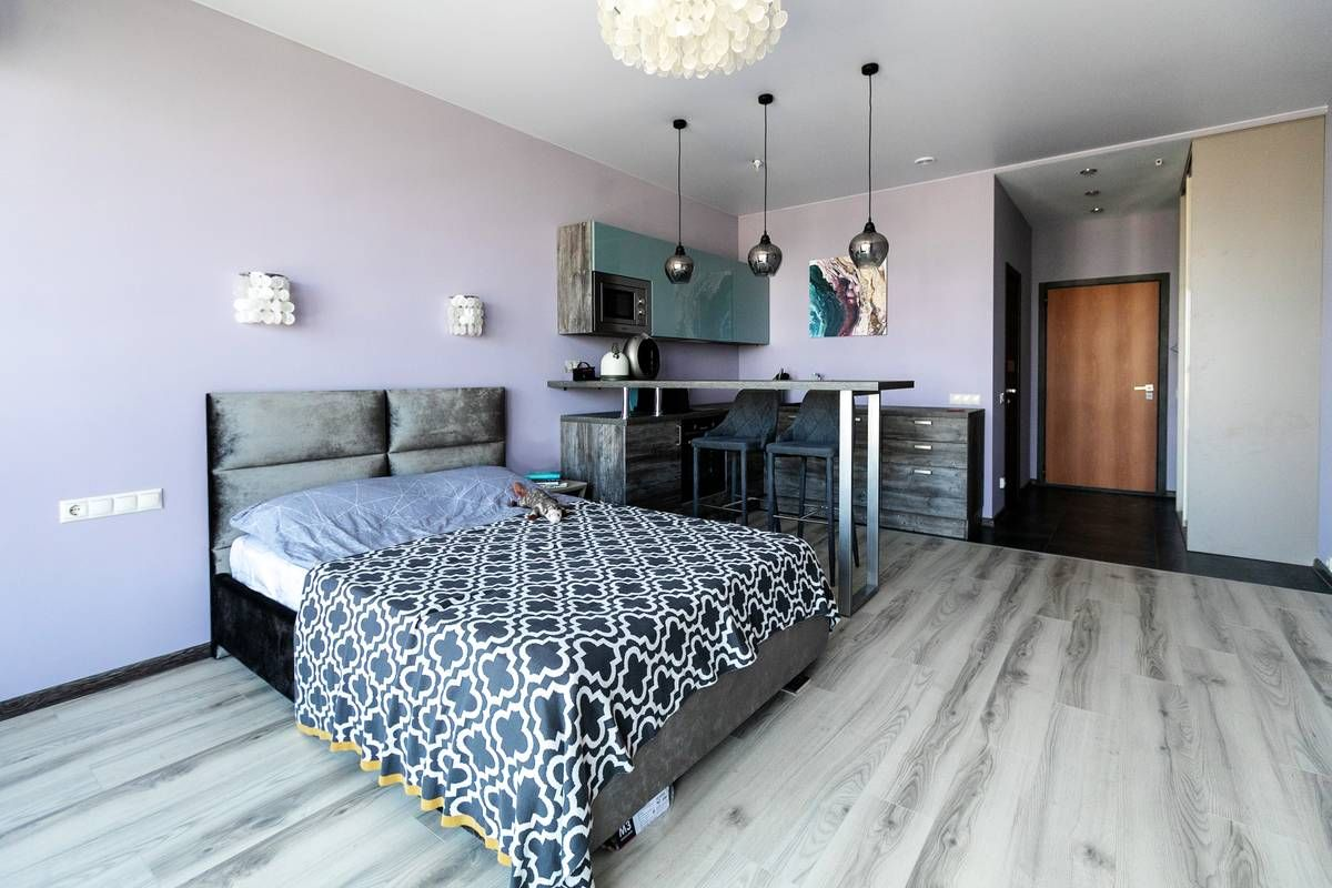 Хюгге-апартаменты для девушки, познавшей дзен