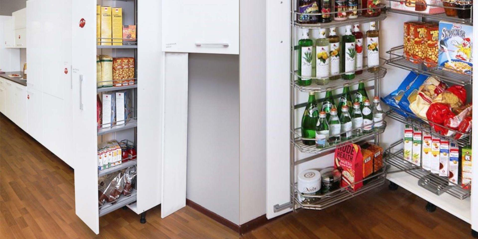 Умное хранение на кухне