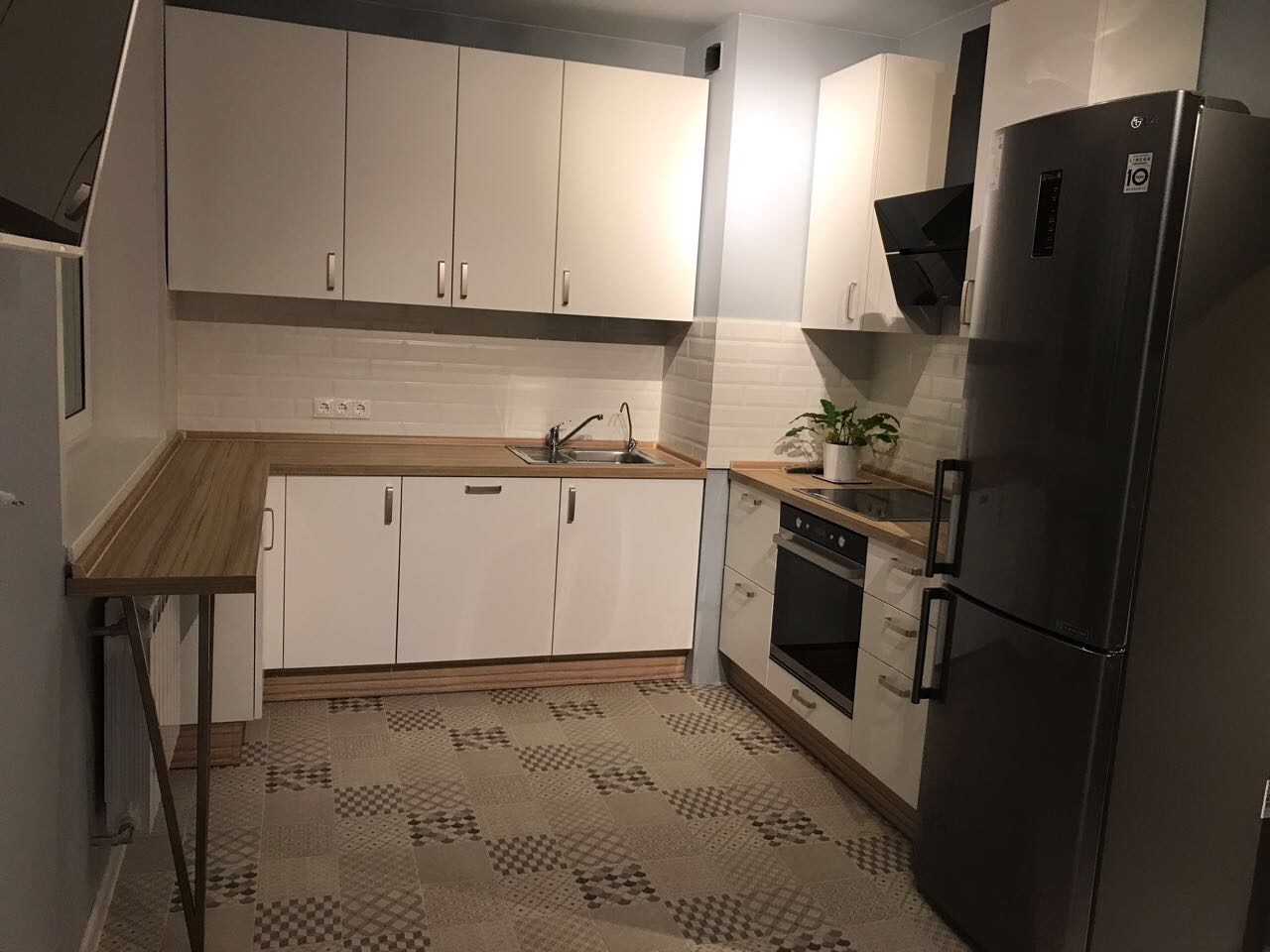 Кухня для молодой семьи