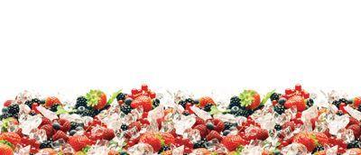 Лед и ягоды