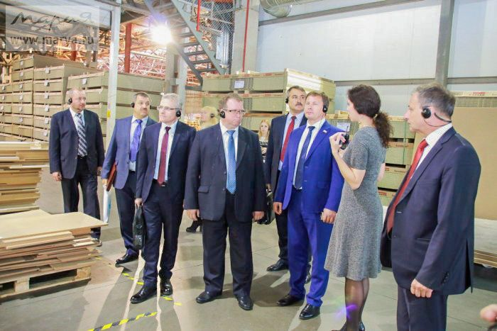 «Марию» посетила делегация Республики Беларусь