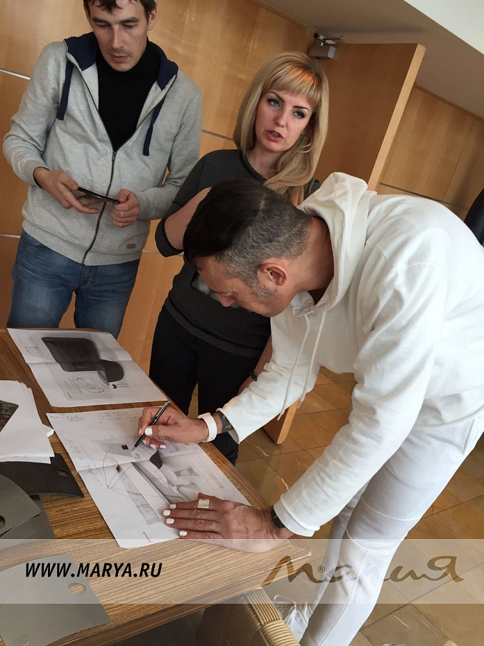 Карим Рашид в Москве обещал удивить российскую публику кухнями будущего