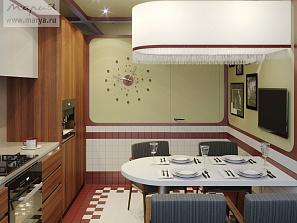 Новый проект «Квартирного вопроса» с участием кухни «Мария»